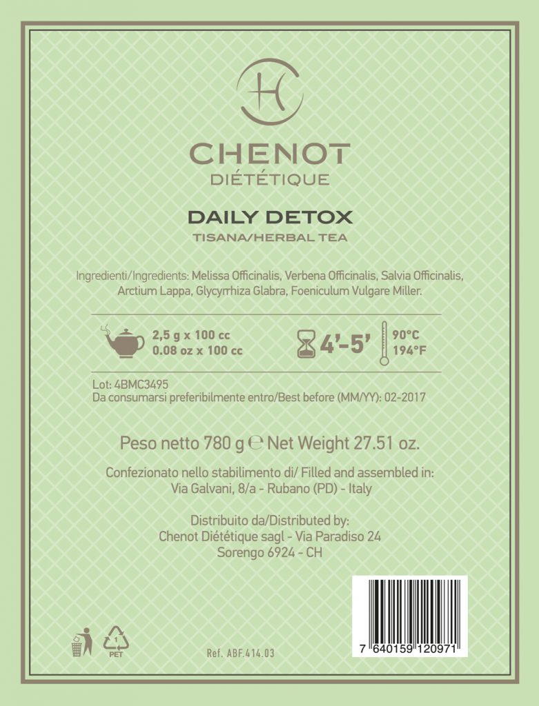 Chenot Daily Detox