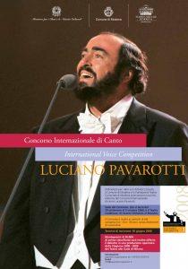 Teatro Comunale di Modena _ Concorso internazionale di canto Luciano Pavarotti