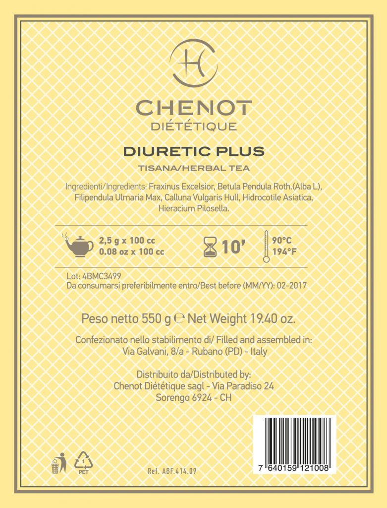 Chenot diuretic Plus